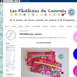 TUTO COCOtrousse + concours