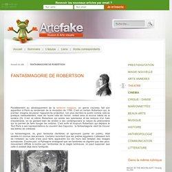 FANTASMAGORIE DE ROBERTSON