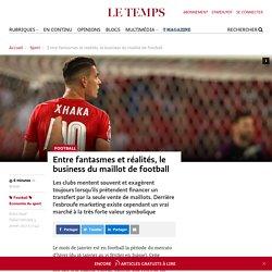 Entre fantasmes et réalités, le business du maillot de football - Le Temps