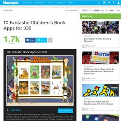 10 Fantastic Children's Book Apps for iOS