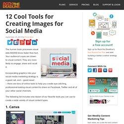 12 Fantastic Free Tools for Creating Social Media Marketing Images