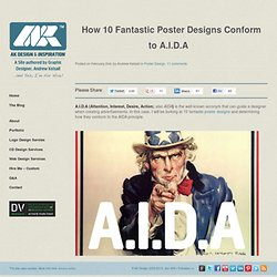 How 10 Fantastic Poster Designs Conform to A.I.D.A - StumbleUpon