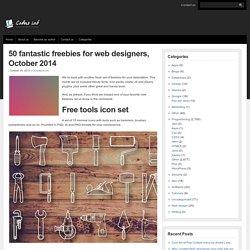 50 fantastic freebies for web designers, October 2014