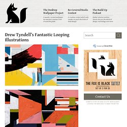 Drew Tyndell's Fantastic Looping Illustrations