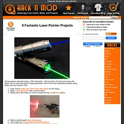 6 Fantastic Laser Pointer Projects