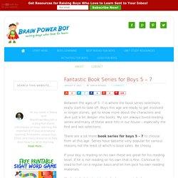 Fantastic Book Series for Boys 5 - 7 - Brain Power Boy