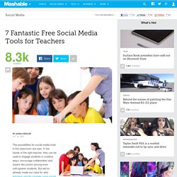 7 Fantastic Free Social Media Tools for Teachers