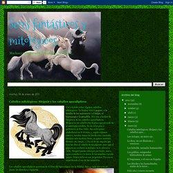 Seres fantásticos y mitológicos: Caballos mitológicos: Sleipnir y los caballos apocalípticos