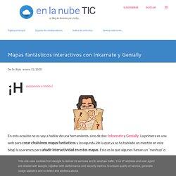 Mapas fantásticos interactivos con Inkarnate y Genially