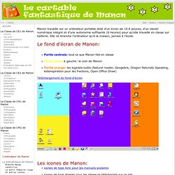 Le cartable fantastique de Manon - Main - LordinateurDeManon
