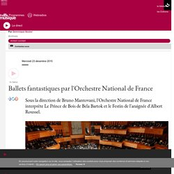 Ballets fantastiques par l'Orchestre National de France