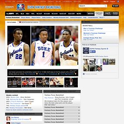 Fantasy Basketball - Free Fantasy Basketball Leagues, Rankings and more -