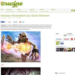 Fantasy Illustrations by Scott Altmann