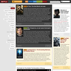 SF and Fantasy news, reviews and opinions - Science Fiction World
