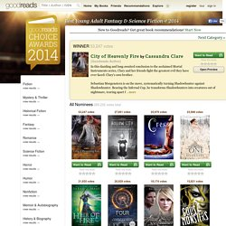 Best Young Adult Fantasy & Science Fiction 2014 — Goodreads Choice Awards
