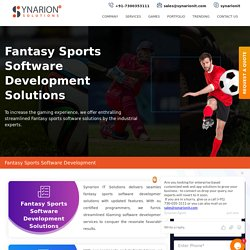 Get Fantasy Game App Development With Updated Features