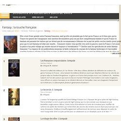 Fantasy : la touche française - Liste de 18 livres