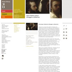 Henri Fantin-Latour Omaggio a Delacroix