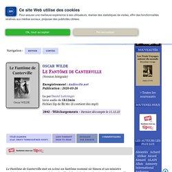 Oscar Wilde - Le Fantôme de Canterville - à écouter