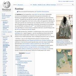 Fantôme/ Wikipedia