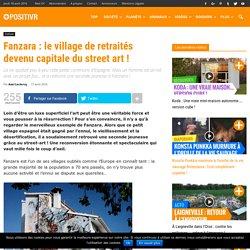 Fanzara : le village de retraités devenu capitale du street art !