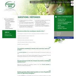 FAQ Consommateur – COSMEBIO®