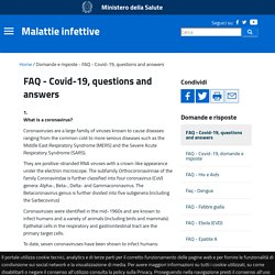 salute_gov_it - FAQ - Covid-19, questions and answers.