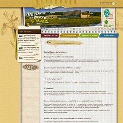 Faq - Maison de la Nature et de la Réserve