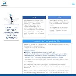 FAQ Moratorium