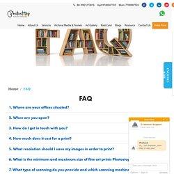 FAQ - Photostop