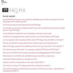 FAQ PIX