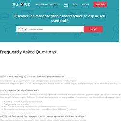 FAQ - SellHound
