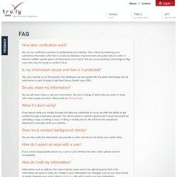 FAQ - tru.ly