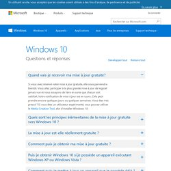 FAQ Windows 10
