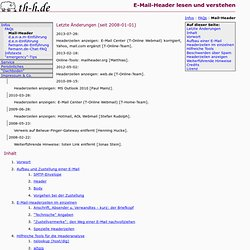 FAQs: E-Mail-Header lesen und verstehen
