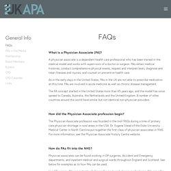 FAQs — UKAPA