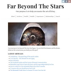 Far Beyond The Stars | Live a Minimalist Lifestyle and Work from Anywhere