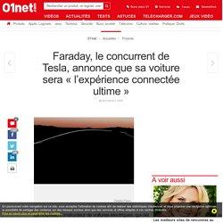 Faraday, le concurrent de Tesla, annonce que sa voiture sera «l'expérience connectée ultime»