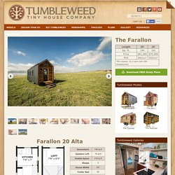 Farallon Tiny House RV, Tiny House Plans, Tiny House on Wheels
