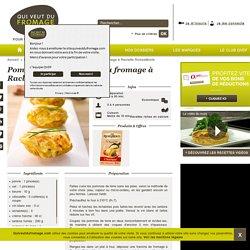 Pommes de terre farcies au fromage à Raclette RichesMonts