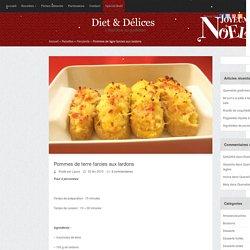 Pommes de terre farcies aux lardons
