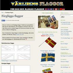 Färglägga flaggor