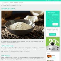 Farine de coco - Le Vitaliseur de Marion
