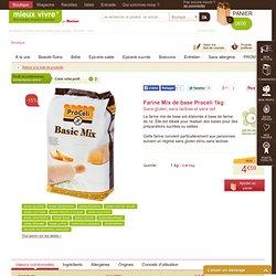 Farine mix de base sans gluten - Proceli - 1KG