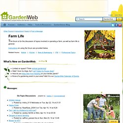Farm Life Forum