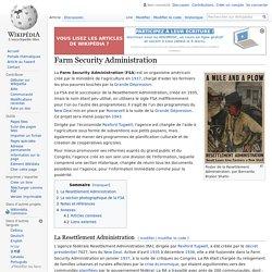 Farm Security Administration