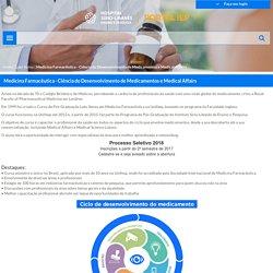 Portal IEP - Medicina Farmacêutica - Ciência do Desenvolvimento de Medicamentos e Medical Affairs