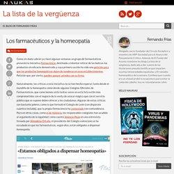 Los farmacéuticos y la homeopatía