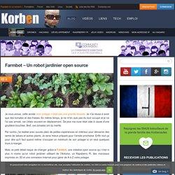 Farmbot - Un robot jardinier open source