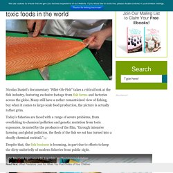 Farmed Salmon — one of the most toxic foods in the world : Healthy Holistic Living